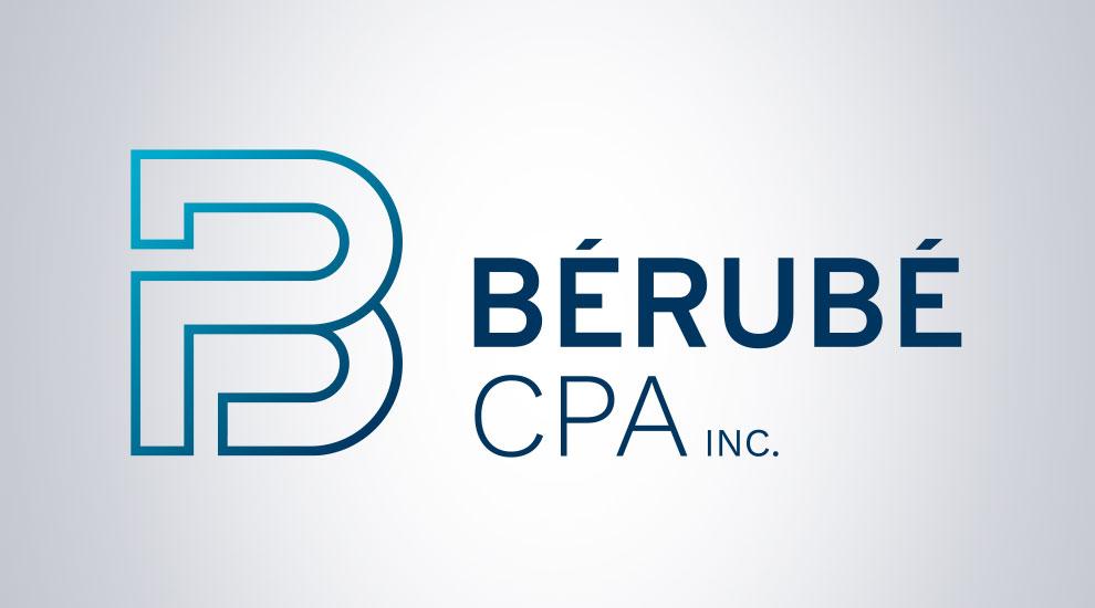 Création de logo pour Bérubé CPA. graphiste