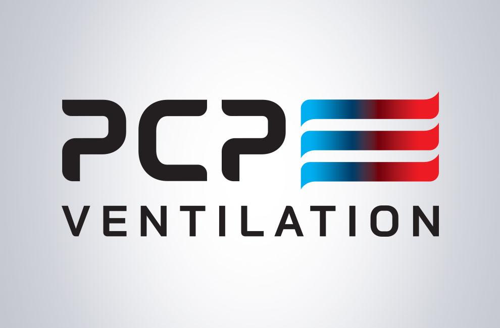 Création de logo pour PCP ventilation, graphiste et branding