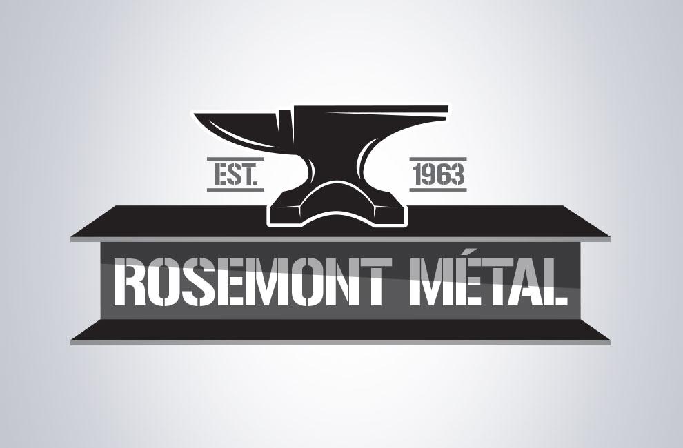 Création d'un site web pour Rosemont métal, graphiste
