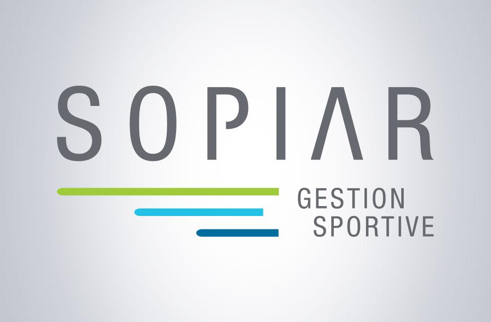 Création de logo pour Sopiar, gestion sportive