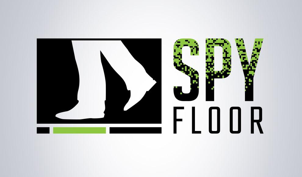 Création de logo pour Spy floor, graphiste