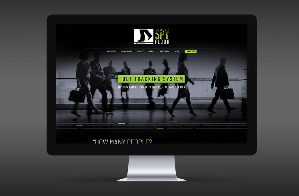 Conception et intégration d'un site web pour Spy floor