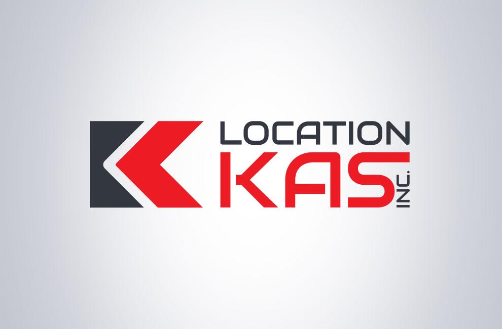Création de logo pour Location kas, graphiste