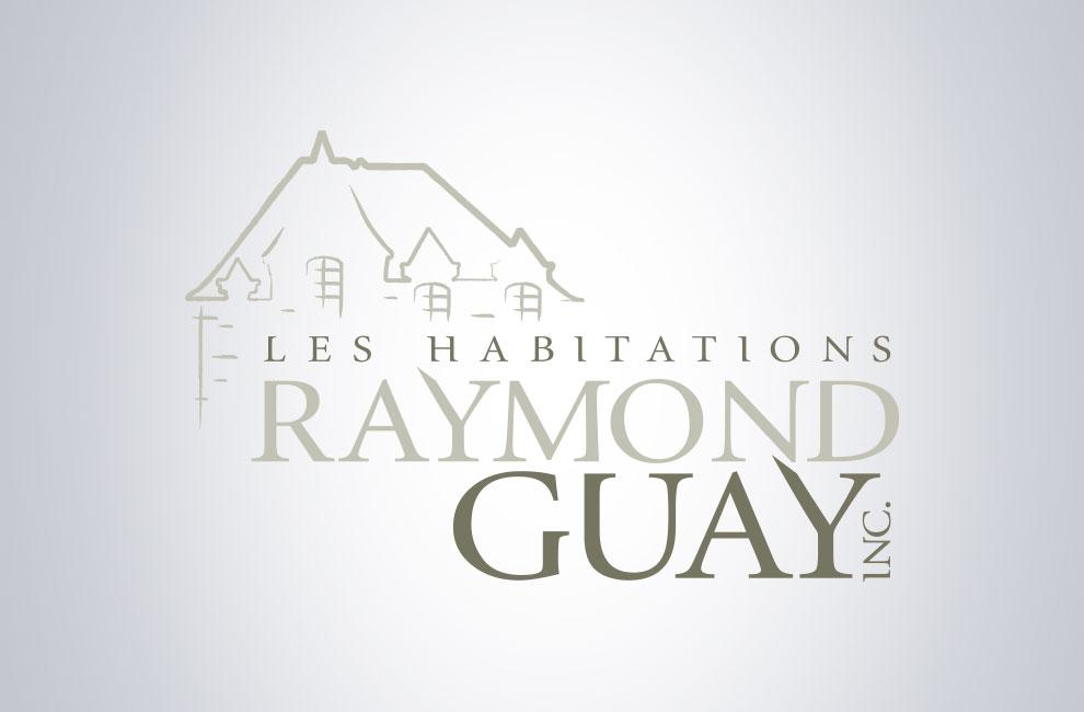 Création de logo pour les habitations raymond guay, graphiste, branding
