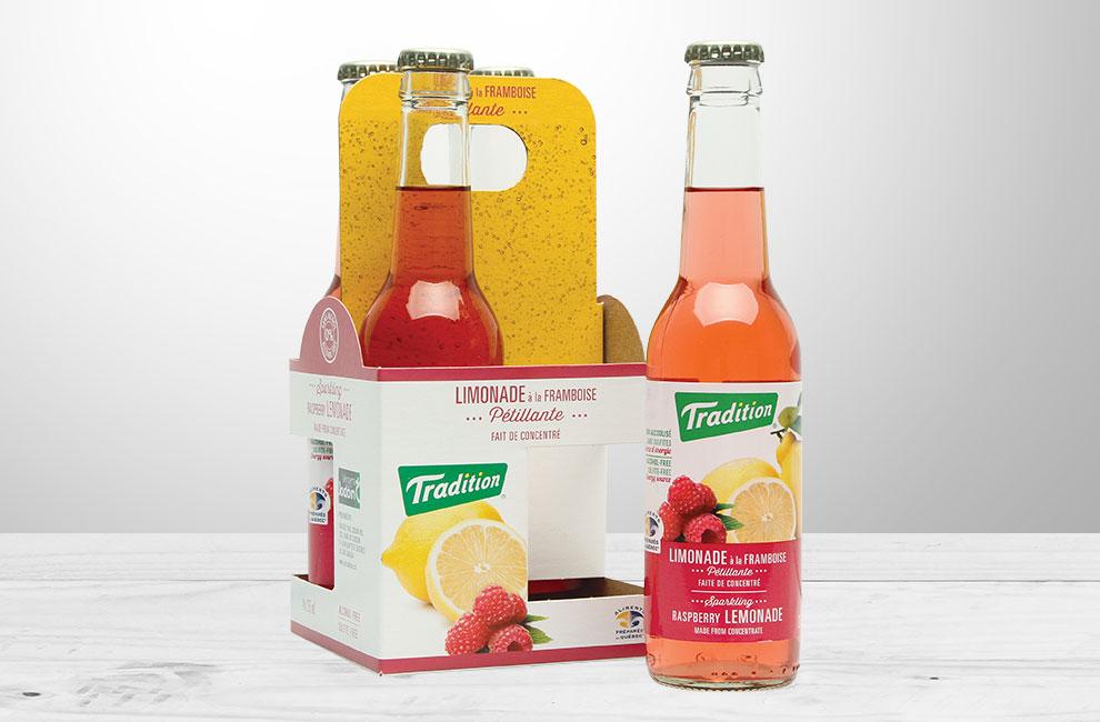 emballage pour les jus pétillants tradition, graphiste, packaging