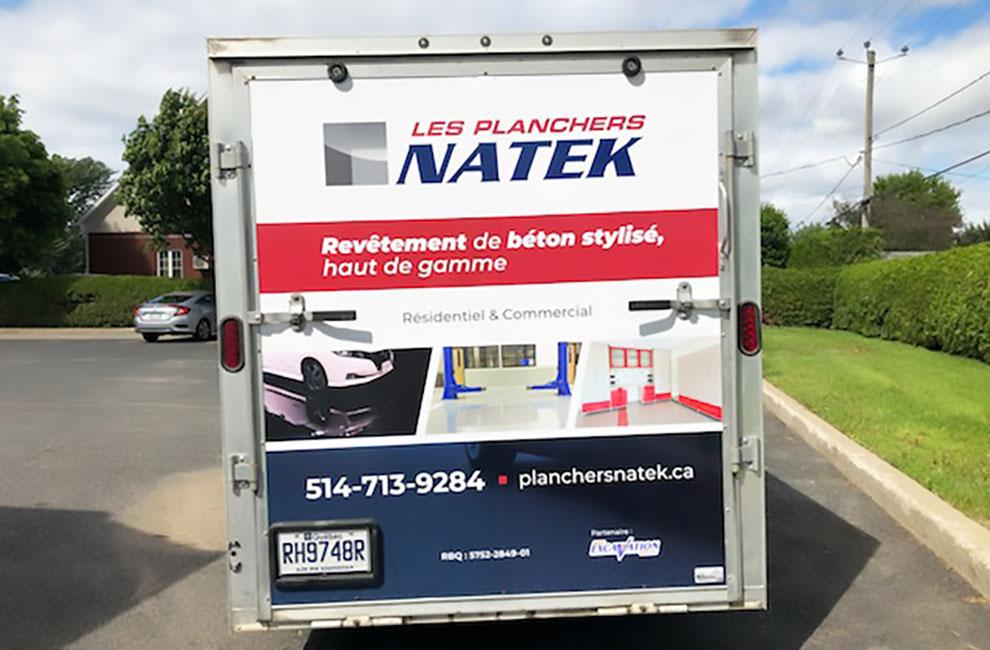 Wrapping de véhicule, lettrage, wrap automobile, installation