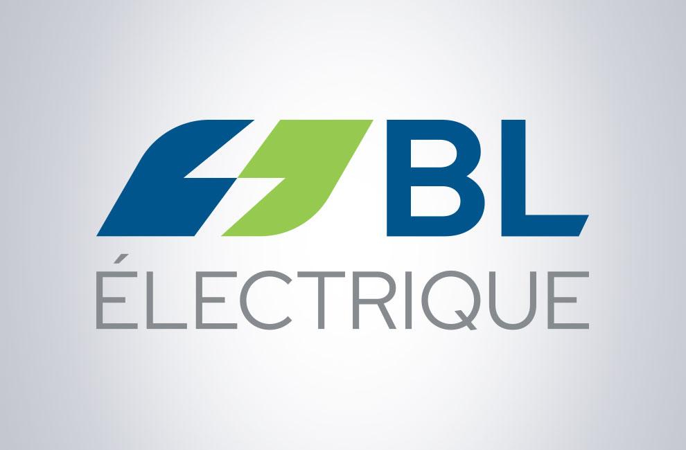 Création de logo de BL électrique, graphiste