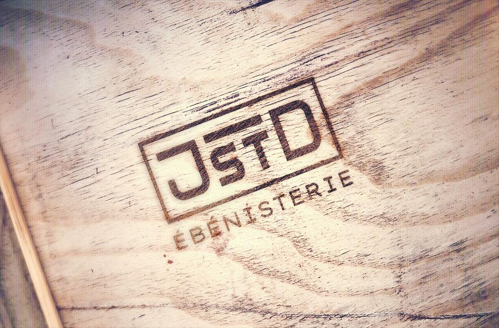 Branding et graphiste, création de logo pour JSTD ébénisterie