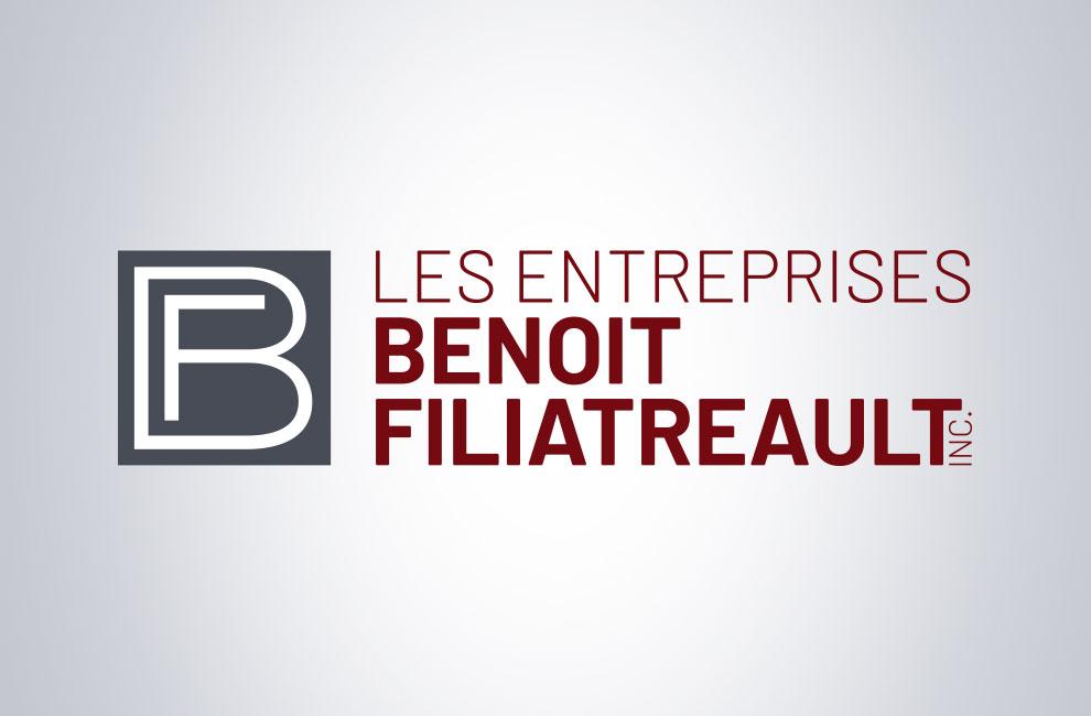 Branding et graphiste, création de logo pour les entreprise Benoit Filiatreault